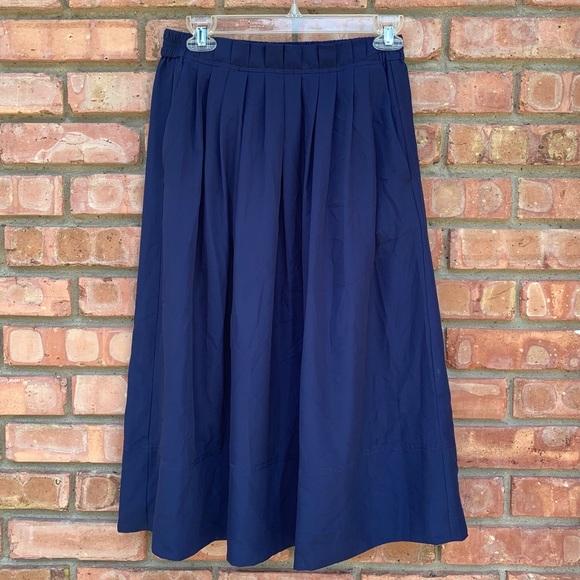 J. Crew Dresses & Skirts - NWT J Crew Blue Midi Skirt
